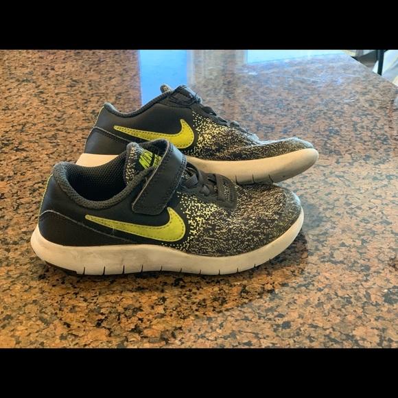 5c03ffdbf4 Nike Shoes | Kids Flex Contact Tennis Sneakers | Poshmark